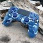 Preview: PS4 Camouflage Blue Case | Modell JDM-040