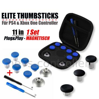 Elite Thumbsticks Set - Blau