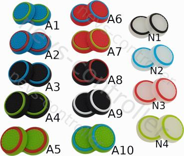 PS4 PS5 Xbox One Controller Grip Caps Design Auswahl