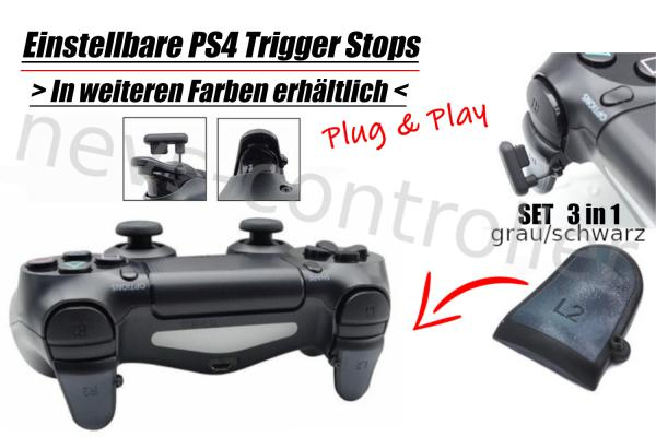 Einstellbare PS4 Controller L2/R2 Trigger Stops | AUSWAHL