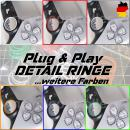 Detail Ringe für PS5 Controller | Plug & Play